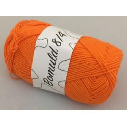 Bomuld 8/4. Farve 31, orange