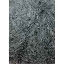Lang Yarns Mohair luxe, farve 05, grå melange