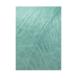 Lang yarns mohair luxe, farve 58, mint garn