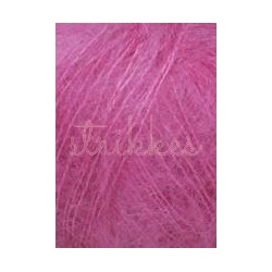 Lang Yarns Mohair luxe, farve 66, fuchsia