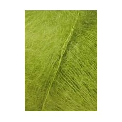 Lang yarns mohair luxe, farve 98, lime garn