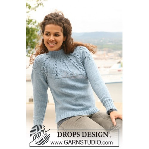 Ice Storm by DROPS Design - S-XXXL - DROPS KARISMA