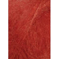 Lang Yarns Mohair luxe, farve 275, brun orange
