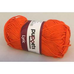 Puppets Lyric. Farve 7329, orange