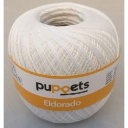 Puppets Eldorado nr. 10. Farve 7001 hvid