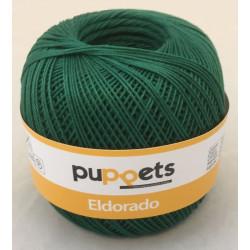 Puppets Eldorado nr. 10. Farve 6332 skovgrøn