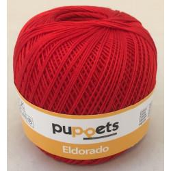 Puppets Eldorado nr. 10. Farve 7046 rød