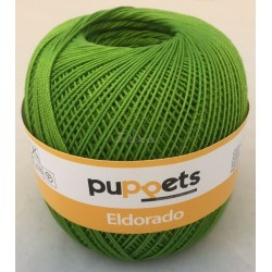 Puppets Eldorado nr. 10. Farve 8255 æblegrøn