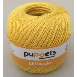 Puppets Eldorado nr. 10. Farve 7516 gul