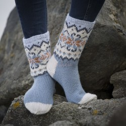 Sokker - Viking Design 1707-18 Kit - 28/30-44/46 - Viking Alpaca Storm