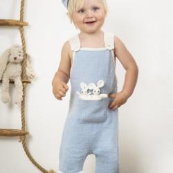 """""""Broremann"""" Selebukser + kaniner - Viking Design 1509-11 Kit - 0/3 Mdr.-2 År - Viking Baby Ull"""