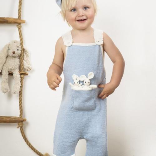"""""""Broremann"""" Selebukser + kaniner - Viking Design 1509-11 Kit - 0 Mdr.-2 År - Viking Baby Ull"""