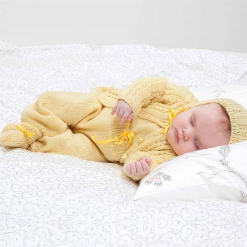 Jakke, bukser, hue og sokker - Viking Design 1006-1 Kit - 0/3 Mdr.-9 Mdr. - Viking Baby Ull