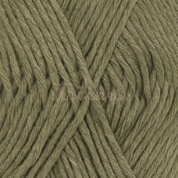 Drops Cotton Light UNI farve 12 khaki
