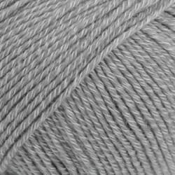 Drops Cotton Merino UNI farve 18 mellemgrå