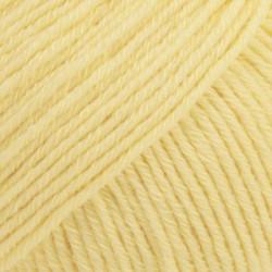 Drops Cotton Merino UNI farve 17 vanilliegul