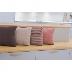 Pudebetræk, beige eller koral - Viking Design 1705-8B+D Kit - One-size - Viking Bamboo