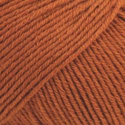 Drops Cotton Merino UNI farve 25 rust
