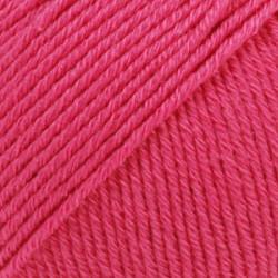 Udgået Drops Cotton Merino UNI farve 14 cerise