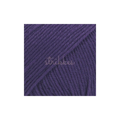 Drops Cotton Merino UNI farve 27 violet