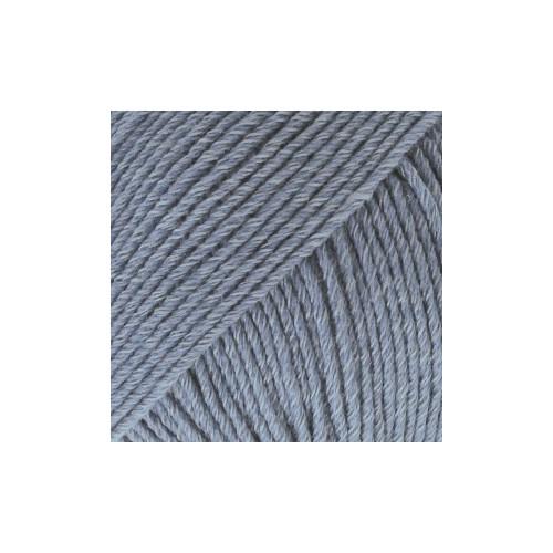 Drops Cotton Merino UNI farve 16 jeansblå