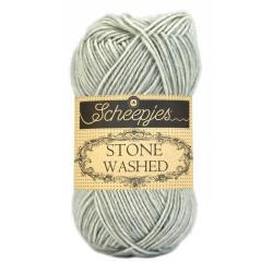 Scheepjes Stone washed 50g, farve 814 Crystal Quartz