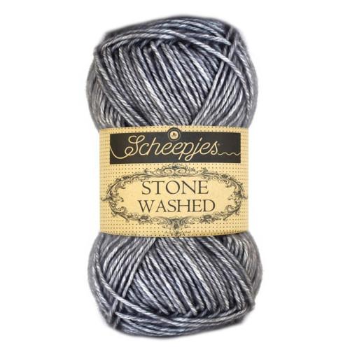 Scheepjes Stone washed 50g, farve 802 Smokey Quartz