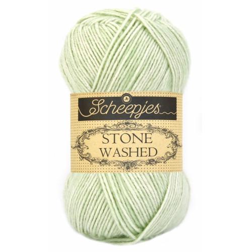 Scheepjes Stone washed 50g, farve 819 New Jade