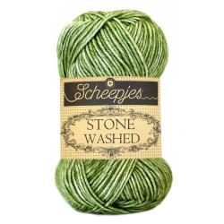 Scheepjes Stone washed 50g, farve 806 Canada Jade