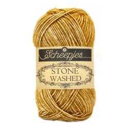 Scheepjes Stone washed 50g, farve 809 Yellow Jasper
