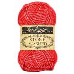 Scheepjes Stone washed 50g, farve 823 Carnelian