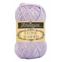 Scheepjes Stone washed 50g, farve 818 Lilac Quartz