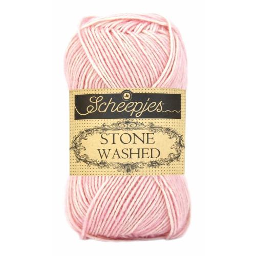 Scheepjes Stone washed 50g, farve 820 Rose Quartz