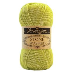 Scheepjes Stone washed 50g, farve 827 Peridot