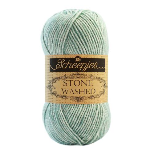 Scheepjes Stone washed 50g, farve 828 Larimar