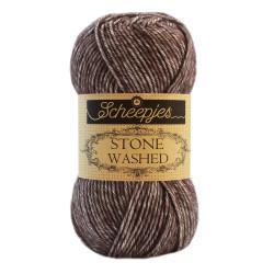 Scheepjes Stone washed 50g, farve 829 Obsidian