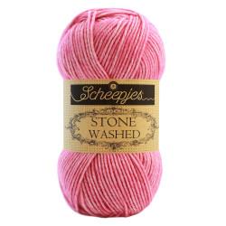 Scheepjes Stone washed 50g, farve 836 Tourmaline