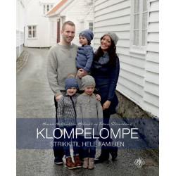 Klompelompe strik til hele familien (dansk) af Hanne Andreassen Hjelmås & Torunn Steinsland
