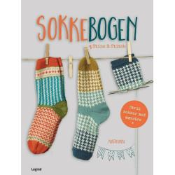 Sokkebogen fra Stine & Stitch. 23 sokker på Dansk