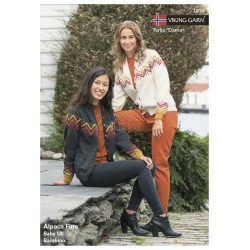 Viking strikkeopskrifter katalog 1816, Dame, bambino & baby ull
