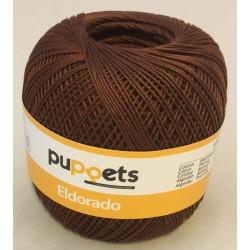 Puppets Eldorado nr. 10. Farve 7359 mørk brun