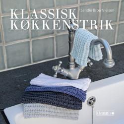 Klassiske køkkenstrik bog af Sandie Broe Nielsen