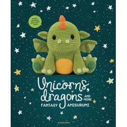 Unicorns, dragons and more fantasy, 14 søde figuer, engelsk