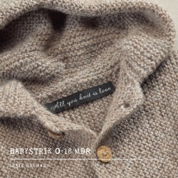 Image of   All you knit is love, 0-18 mdr, susie haumann bog, dansk garn