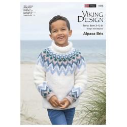 GRATIS Viking strikkeopskrifter katalog 1815, børn 2-12 år, UDEN opskrifter