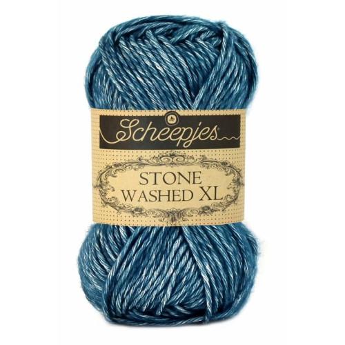 Scheepjes Stone Washed XL 50g, farve 845 Blue Apatite