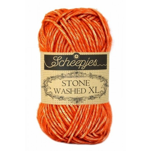 Scheepjes Stone Washed XL 50g, farve 856 Coral