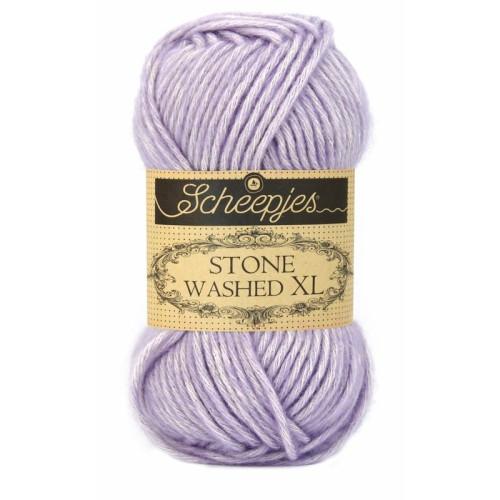 Scheepjes Stone Washed XL 50g, farve 858 Lilac Quartz