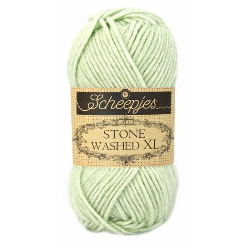 Scheepjes Stone Washed XL 50g, farve 859 New Jade