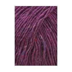 Lang Yarns Donegal Tweed. Farve 65, fuchsia